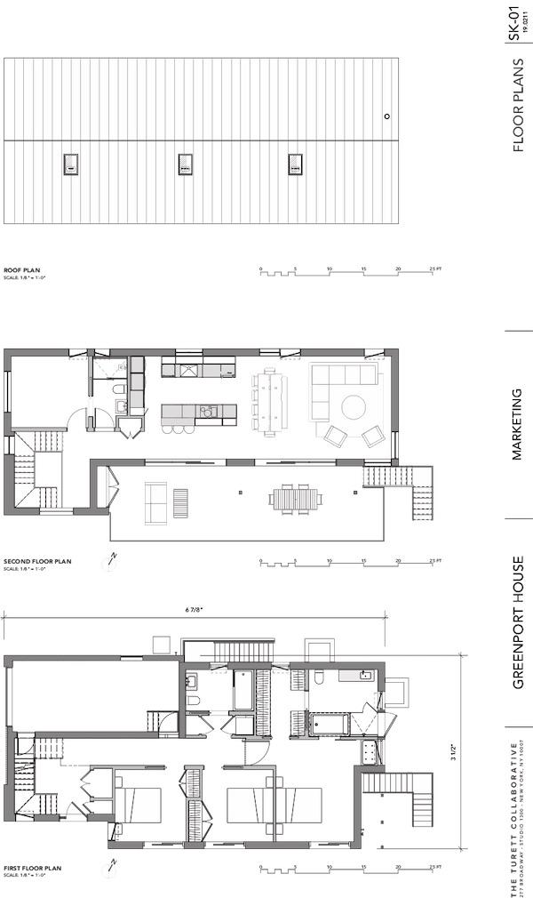 Passive house floor plan
