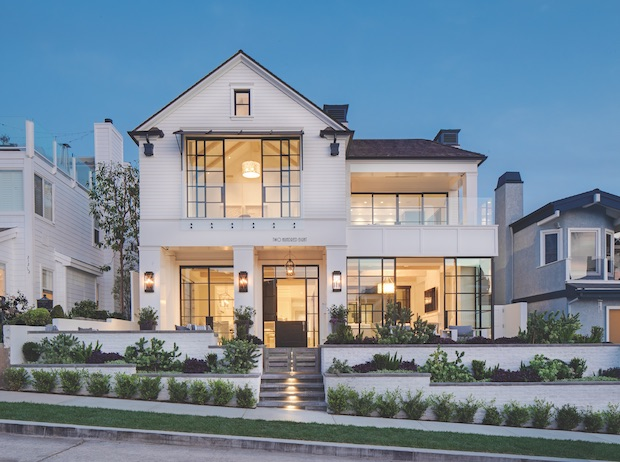traditional architecture in a Patterson custom home
