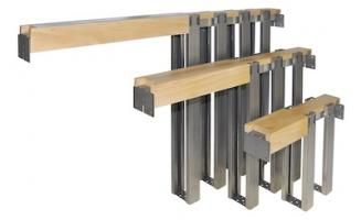 Johnson steel studs for pocket door frame