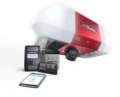 LiftMaster garage door opener with smart camera