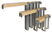 Johnson steel studs for pocket door frame
