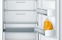 Bosch Benchmark refrigerator with custom panel single door