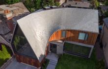 a house zinc tile