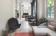 Adaptive reuse narrow living space