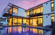 Factory-built custom home in Santa Monica, Calif.