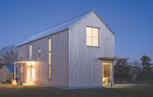 Energy-efficiency-Exterior-of-Maine-net-zero-home