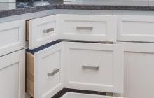 Corner Kitchen drawers