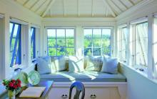 Window and Light Filled Interior Room