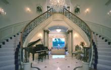 Richard Berry entryway/staircase