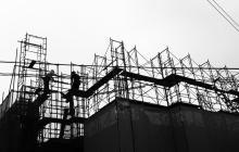 Construction site graphic