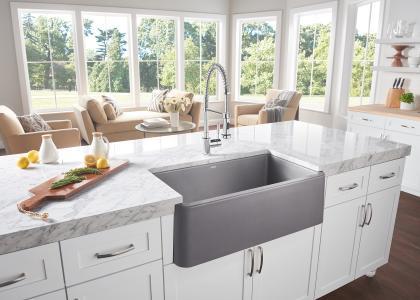 Blanco's Ikon Apron Front Single Bowl kitchen sink