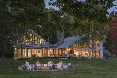 Shorefront Camp in coastal Maine