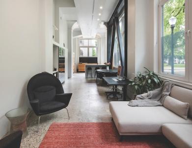 Adaptive reuse narrow living space
