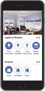 Caseta Wireless Home Screen