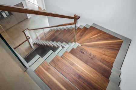 Staircase-design-Black-walnut-and-white-oak-stairway