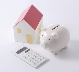 Piggy_bank, house, and hand_calculator